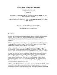 UNDANG-UNDANG REPUBLIK INDONESIA - Elsam