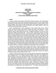 RUU KUHP - Draft II Tahun 2005 Lembaga Studi dan ... - Elsam