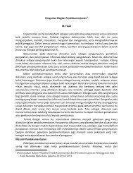 Pengantar Ringkas Pendokumentasian oleh Fauzi - Elsam