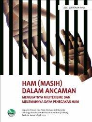 Laporan Situasi HAM di Indonesia periode Januari-April 2013 - Elsam