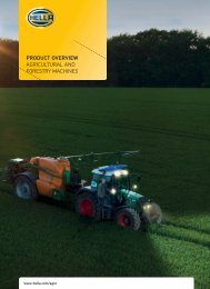 product overview agricultural and forestry machines - Hellanor