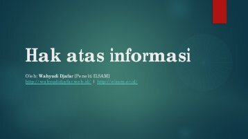 Hak atas informasi.pdf - Elsam
