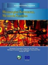 Kertas Posisi Keadilan Transisional Nomor 1 - Elsam