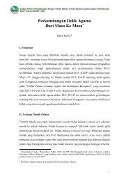Perkembangan Delik Agama dalam RKUHP dari Masa ke ... - Elsam