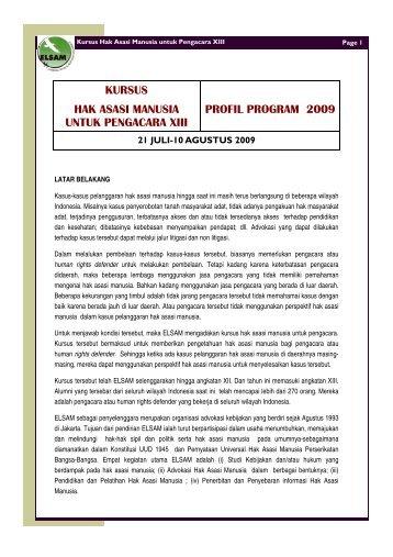 Publikasi Kursus HAM 2009-1.pub - Elsam