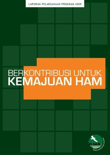 Laporan ELSAM ke Publik 2010