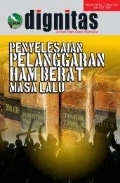 JURNAL DIGNITAS VOL VIII No 1 2012 e-bookR.pdf - Elsam