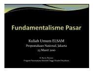 Fundamentalisme Pasar - Elsam