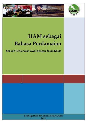 HAM sebagai Bahasa Perdamaian.pdf - Elsam