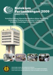 01 Kata Pengatar.pmd - tekMIRA - Departemen Energi dan Sumber ...