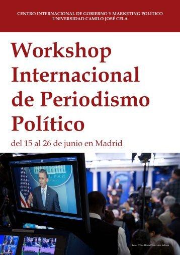 Workshop Internacional de Periodismo Político