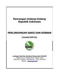 Rancangan Undang-Undang Republik Indonesia ... - Elsam