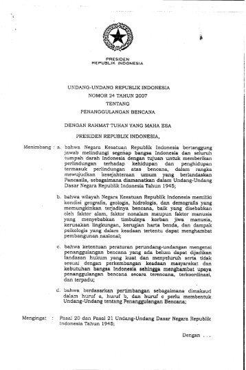 kebutuhan bangsa Indonesia sehingga menghambat upaya