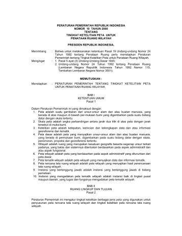 Peraturan pemerintah no 80 tahun 2007