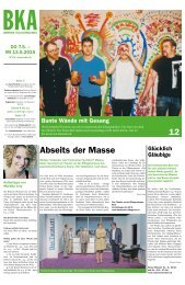 Berner Kulturagenda 2015 N° 19