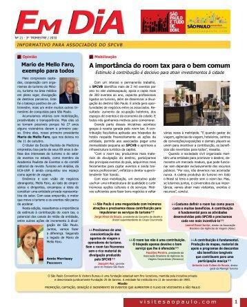 Edição N° 21 - São Paulo Convention & Visitors Bureau