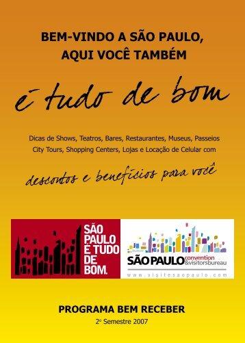 Programa Bem Receber - Visite São Paulo