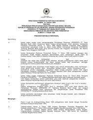 Peraturan pemerintah Nomor 15 Tahun 2003