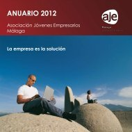 Memoria Actividades 2012 - Asociación de Jóvenes Empresarios