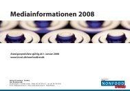 Mediainformationen 2008 - Isler Annoncen AG