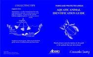 Aquatic Animal Identification Guide - AlbertaParks.ca