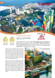 Review of Operations - Genting Malaysia Berhad