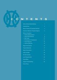 Index / Contents (853KB) - Genting Malaysia Berhad
