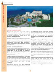 Review of Operations (940KB) - Genting Malaysia Berhad