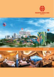 Page 1 Page 2 GENTING @E www.genting.com.my GENTING www ...