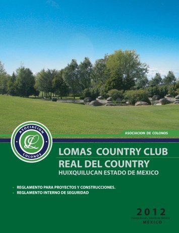 lomas country club real del country 2012 - asociacionlomascountry.org