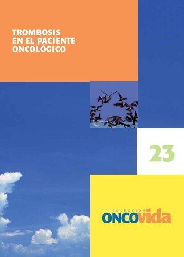 Trombosis en el paciente oncológico - Sociedad Española de ...
