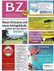 Neuer Ortsname und neues Amtsgebäude: Lochen ... - Bezirkszeitung