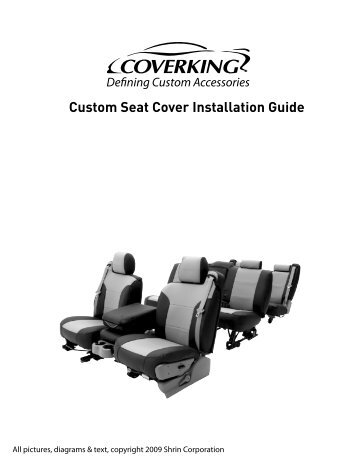 Custom Seat Cover Installation Guide - RealTruck.com