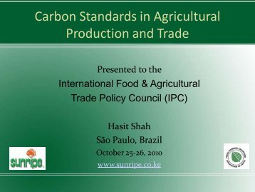 Presentation [PDF] - International Food & Agricultural Trade Policy ...