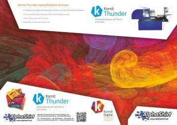 Kornit Thunder - Alphashirt