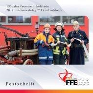 Festschrift 150 Jahre Feuerwehr Erolzheim