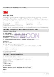 Safety Data Sheet SECTION 1: Identification of the ... - AMI-CON
