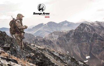 Savage Arms 2015 , Catalog