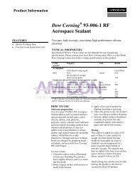 Dow Corning® 93-006-1 RF Aerospace Sealant - AMI-CON
