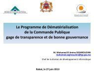 M.Mohamed Amine SEGHROUCHNI - Portail Marocain des ...