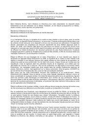 Discours du ministre - 15.1 kOctets - PDF - Presse - Ministère de la ...