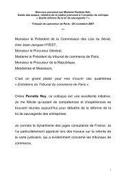Discours - 42.4 kOctets - PDF - Presse - Ministère de la Justice