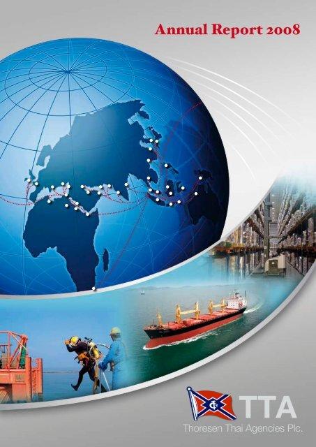 Annual Report 2008 - Thoresen Thai Agencies PCL