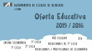 Oferta Educativa do AEA para 2015/2016 - old