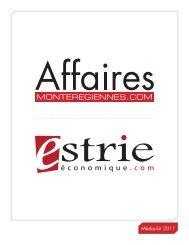 Média-kit 2011 - Affaires Montérégiennes