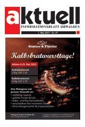 Aktuell Obwalden 19-2015