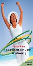 So kommt der Darm in Schwung - Dr. Falk Pharma GmbH