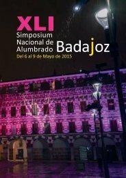Programa XLI Simposium CEI 2015