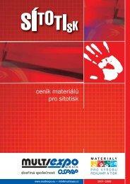 ceník materiálů pro sítotisk - Prodes