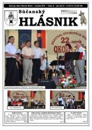 Súčanský hlásnik 2012 číslo 2.pdf - Horná Súča